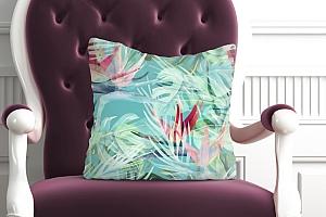 3D Подушка «Гавайские цветы» вид 5