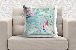 3D Подушка «Гавайские цветы» вид 9