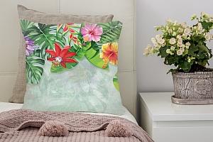 3D Подушка «Тропическая роща» вид 2