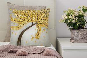 3D Подушка «Осеннее дерево» вид 2