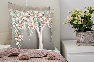 3D Подушка «Радужное дерево» вид 2