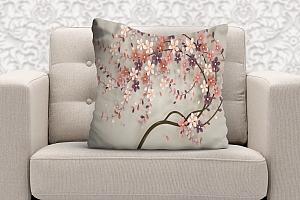 3D Подушка «Персиковое дерево» вид 5