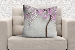 3D Подушка «Весенняя сакура» вид 5