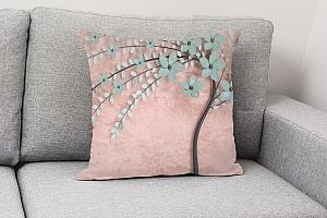 3D Подушка «Цветущее дерево» вид 4