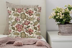 3D Подушка «Старинный цветочный узор» вид 3