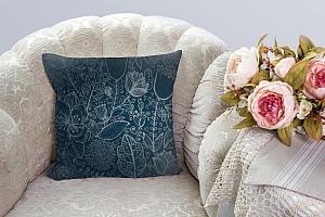 3D Подушка «Вечерние цветы» вид 4