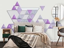 3D Фотообои «Трёхмерные треугольники»