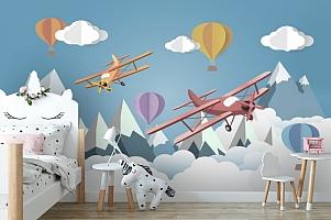 Фотообои «Воздушное оригами»