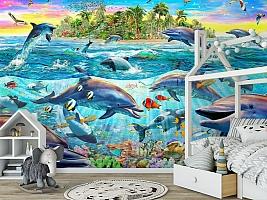 3D Фотообои «Далекий остров» вид 6