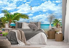 3D Фотообои «Лазурный пляж» вид 2