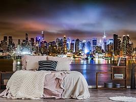 3D фотообои 3D Фотообои «Ночной город» вид 3