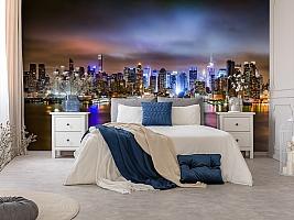 3D Фотообои «Ночной город» вид 8
