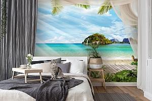 3D Фотообои «На берегу океана» вид 7