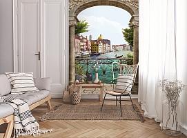 3D Фотообои «Вид на Венецианский канал» вид 9