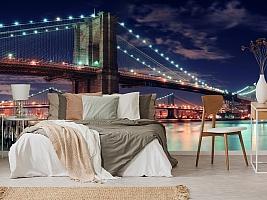 3D фотообои 3D Фотообои «Бруклинский мост» вид 4