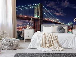 3D фотообои 3D Фотообои «Бруклинский мост» вид 10