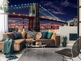 3D фотообои 3D Фотообои «Бруклинский мост» вид 11