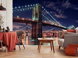 3D Фотообои «Бруклинский мост» вид 10