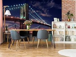 3D Фотообои «Бруклинский мост» вид 9