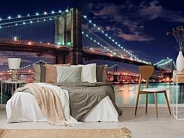 3D Фотообои «Бруклинский мост» вид 6