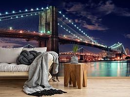 3D Фотообои «Бруклинский мост» вид 5