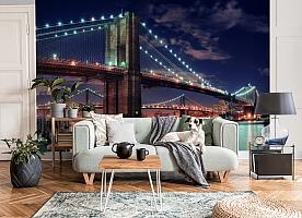 3D Фотообои «Бруклинский мост» вид 3