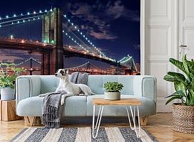 3D Фотообои «Бруклинский мост» вид 2