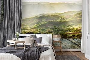 3D Фотообои «Зеленая долина» вид 7