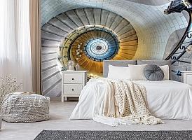 3D Фотообои «Винтажная лестница» вид 10