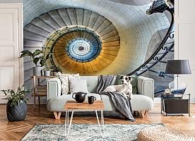 3D Фотообои «Винтажная лестница» вид 7