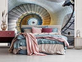 3D Фотообои «Винтажная лестница» вид 5
