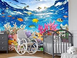 3D Фотообои «Яркие краски кораллового рифа» вид 7