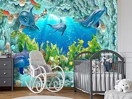 3D Фотообои «Дно океана» вид 7