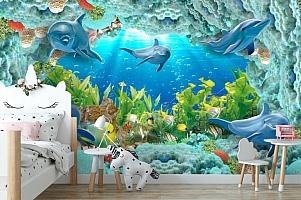 3D Фотообои «Дно океана» вид 4