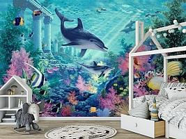 3D Фотообои «Сказочное дно океана» вид 6