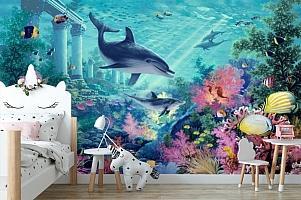 3D Фотообои «Сказочное дно океана» вид 4