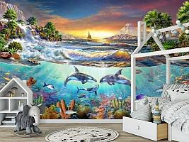 3D Фотообои «Косатки. Сказочные острова» вид 6