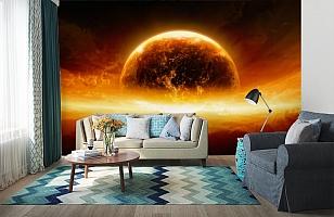 3D Фотообои «Красная планета» вид 6