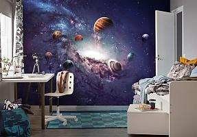 3D Фотообои «Парад планет» вид 4