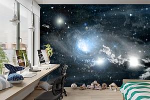 3D Фотообои «Синева космоса» вид 3