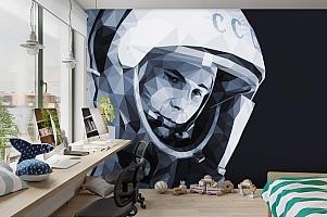 3D Фотообои «Юрий Гагарин» вид 3