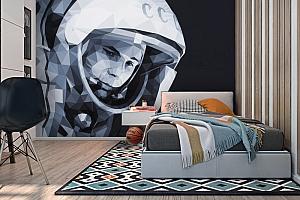 3D Фотообои «Юрий Гагарин» вид 2