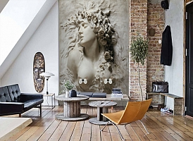 3D Фотообои «Греческая дева»