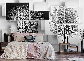 3D Фотообои «Деревья в стиле модерн» вид 4