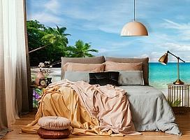 3D Фотообои «Тропический пляж» вид 4