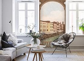 3D Фотообои «Венецианский канал 1» вид 4