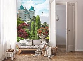 3D Фотообои «Загадочный замок» вид 8