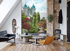 3D Фотообои «Загадочный замок» вид 7
