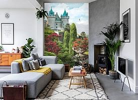 3D Фотообои «Загадочный замок» вид 2