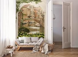 3D Фотообои «Венецианский дворик 1» вид 8